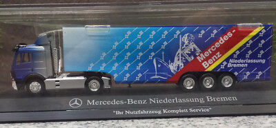 mercedes benz truck niederlassung bremen herpa mb lkw ho 1:87 - eur