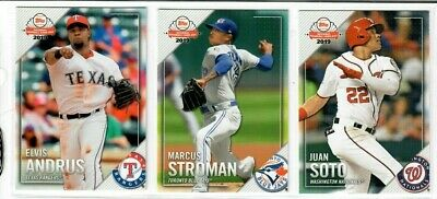 2019 Topps National Baseball Card Day 1-30 Pick TROUT ALONSO ACUNA ELOY HARPER + 4