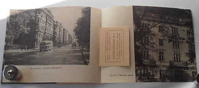1955 USSR Russian Soviet Architecture KIROVSKY AVENUE Illustrated Photo Album 12 • CAD $34.02