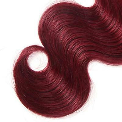 7A 1Tissage bresilien cheveux humains peruviens ombre remy 2 tons body wave 50g 5