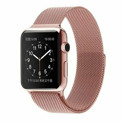 For Apple Watch Series 4 40mm 44mm Magnetic Milanese Loop Band Stainless Steel 9