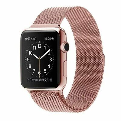 For Apple Watch Series 5 4 40mm 44mm Magnetic Milanese Loop Band Stainless Steel 9