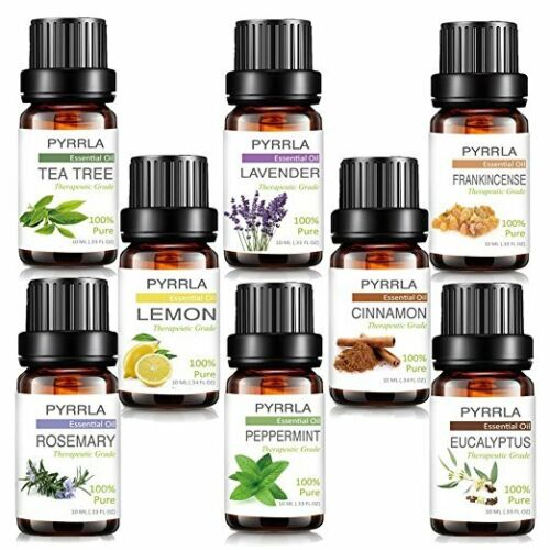Aromatherapy Essential Oils 100% Natural Pure Essential Oil Fragrances 10ml US 11