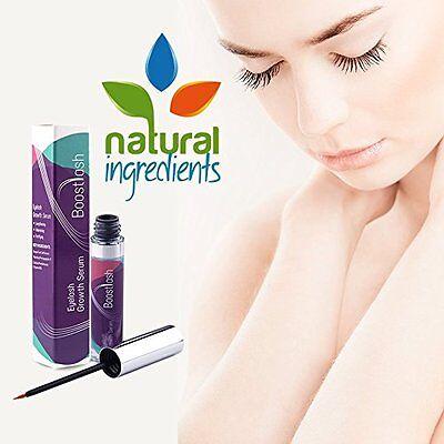 Eyelash & Eyebrow Growth Serum by Boostlash (7.5ml) Grows Longer Thicker Fuller