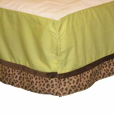 Jungle Tales 8pc Crib Bedding Set By Nojo Monkey Elephant Giraffe Newborn Gift