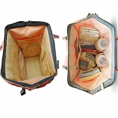 For LAND Mommy Baby Diaper Bag Large Capacity Mom Backpack Baby Nappy Tote Bag 11