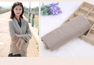 US Seller- 12 Discount Scarf scarves plain casual light weight shawls wholesale 11