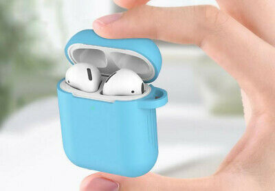 Hot Silicone Protective Cover Slim Case For Apple AirPods Earphone Charger Cases 6