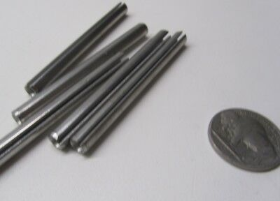"420 Stainless Steel, Slotted Roll Spring Pin, 7/32"" Dia x 2 1/2"" Length, 30 pcs 10"