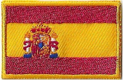 Écusson patche Espagne drapeau petit patch 45 x 30 mm thermocollant 2