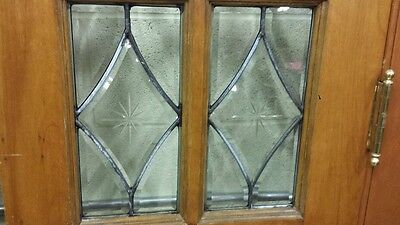 Set Of Antique Bevel Glass Bi- Fold Doors 5