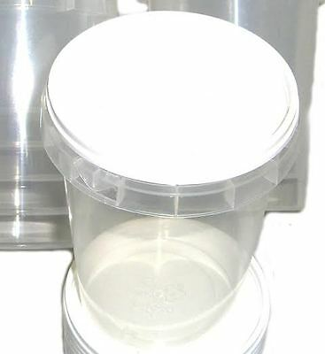 300 Durable Plastic 500g Honey Jars / Pots (1lb)