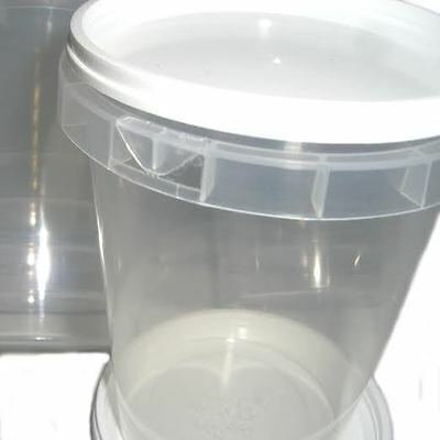 300 Durable Plastic 500g Honey Jars / Pots (1lb) 3