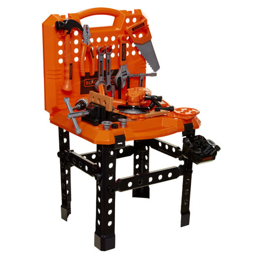 Remarkable Black Decker Toy Carrying Case Workbench Drill Tools Black Ibusinesslaw Wood Chair Design Ideas Ibusinesslaworg