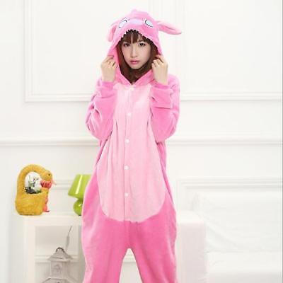 Kigurumi Pijama Unisex Ropa de noche vestido Cosplay Animal Onesie Stitch 4