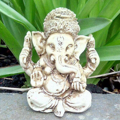 Ganesh small statue Hindu elephant God Good luck UK seller free postage altar