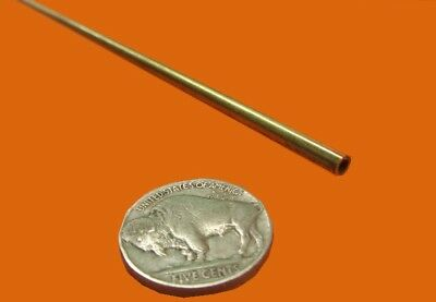 "260 Brass Tube 1//2/"" OD x .020/"" Wall x .460/"" ID x 3 Ft Length"