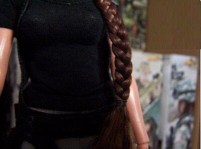 KUMIK 13-54 Angelina Jolie Lara Croft 1//6 Head Sculpt for Hot Toys #US SELLER#