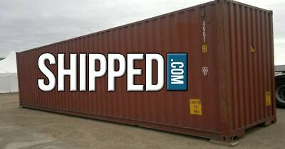 ON SALE! USED WWT 40FT HIGH CUBE SHIPPING CONTAINER HOME STORAGE in DALLAS TEXAS 2