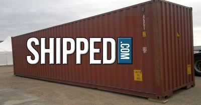 USED 40 ft SHIPPING CONTAINER WE DELIVER BUSINESS & HOME STORAGE in PORTLAND, OR 2