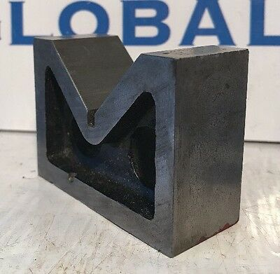 "Caufield ""ECLIPSE"" NO. F-219 Machinist V-Block 3"" X 2-1/4"" X 1-1/4"" Mill Tools"