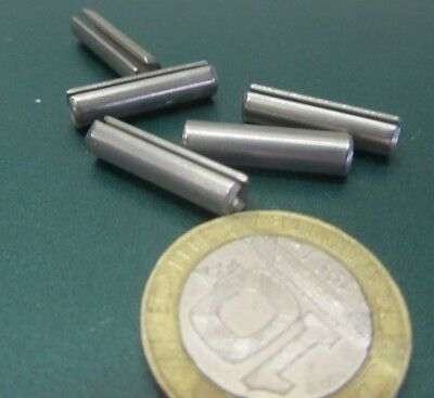 """420 Stainless Steel, Slotted Roll Spring Pin, 3/16"""" Dia x 3/4"""" Length, 100 pcs 11"""