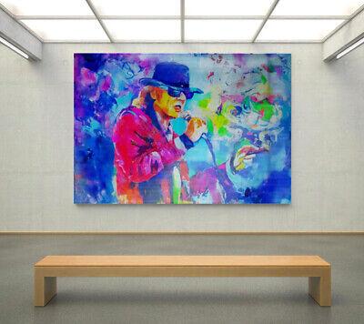 Motiv Udo Lindenberg  XXL 75 x 123 cm Silber Alu PopArt//Poster//Druck//Bild