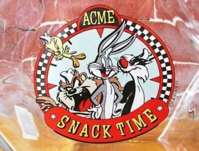 Looney Tunes Vidrio Tarro Snack Tiempo Hexagonal de Galletas Japón F / S 4
