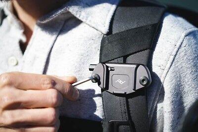 Peak Design Capture Camera Clip v3 Schwarz inkl. standart Plate, Kameraclip 11