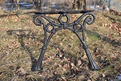 ZAG12 9 Bretter 2 schöne Bankfüße Seitenteile Gartenbank aus Gusseisen Schwarz