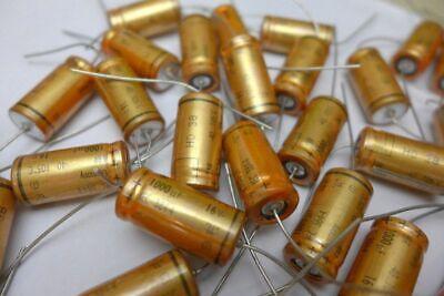4pcs EB 1000uF (1000µF) 16V Axail Electrolytic capacitor 25x10φ 2