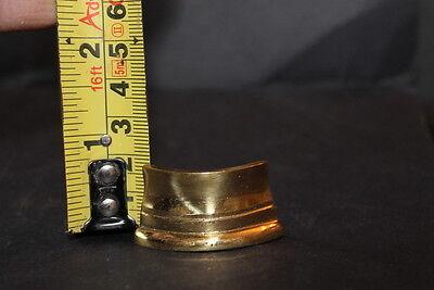 Brass Collars Columns Longcase Grandfather Clock Antique Furniture Restoration