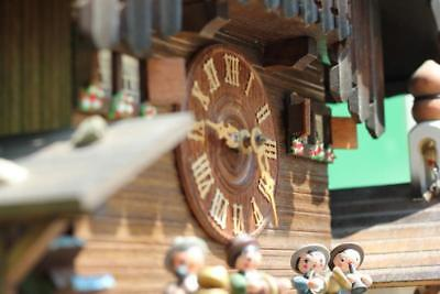 Three Weight Black Forest Musical Cuckoo Clock 9