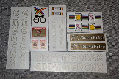silk screen free shipping EDDY MERCKX Corsa Extra decal sticker