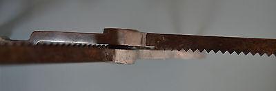 Antiguas y grandes tijeras de bastillar -corte zig zag AFI-DRWZ Made  in Germany