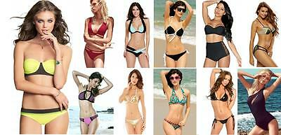 7ca748e61663 ... OFFERTA STOCK LOTTO Costumi Interi Monokini e Bikini Assortiti Donna  Moda Mare 3