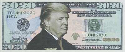 100 BILLS - Donald Trump fake money 2020 Dollar Bills 5