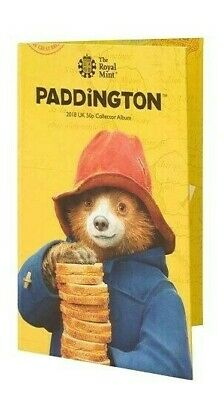 New 2019 Paddington Bear At The Cathedral.tower.station . Palace 50P Coin.albums 3