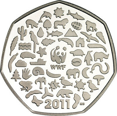 Rare & Valuable UK 50p Pence Coins Circulated Beatrix Potter London Olympics WWF 3