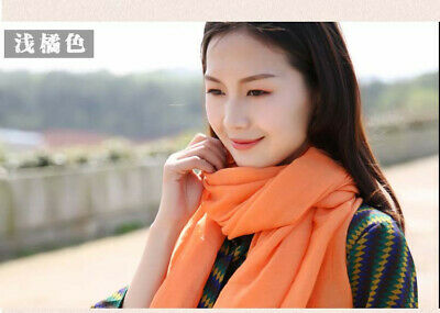 US Seller- 12 Discount Scarf scarves plain casual light weight shawls wholesale 5