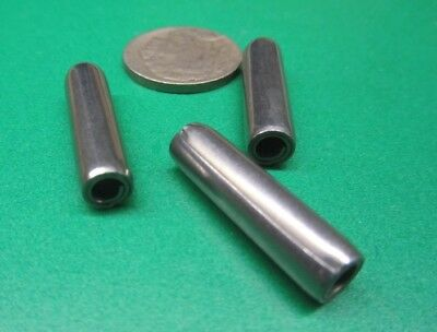 "420 Stainless Steel Coiled Spring Pin, 1/4"" Dia x 1.00"" Length, 20 pcs 9"