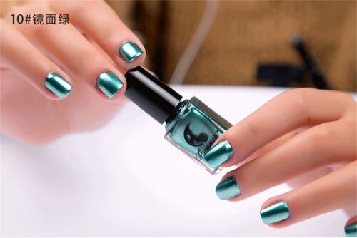 Smalto per unghie effetto specchio cromo metallico nail - Smalto a specchio ...