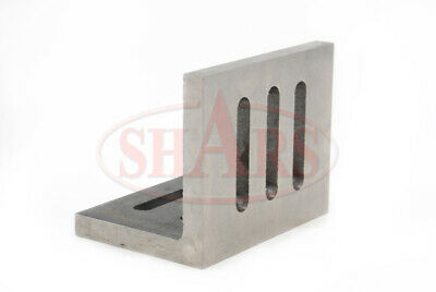 """Shars Precision Machined .002"""" Open End Angle Plate 4-1/2x3-1/2x3"""" New 7"""