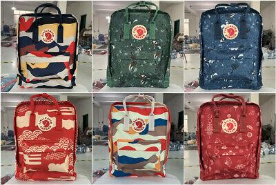 7/16/20 L Fjallraven Kanken Handbag Waterproof Sport Backpack Outdoor Travel Bag 2