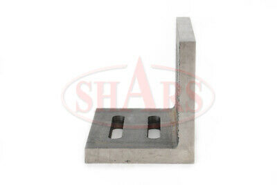 """Shars Precision Machined .002"""" Open End Angle Plate 4-1/2x3-1/2x3"""" New 6"""