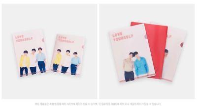 Bts Bangtan Boys World Tour Love Yourself Official Goods Lenticular L-Holder Set 3