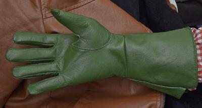 Medieval Renaissance Gauntlet Gloves Long Arm Cuff