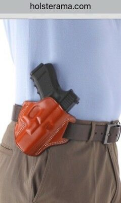 """Premium Leather Holster S/&W M/&P 2.0 M2.0 with 5"""" Barrel # 8641 BRN"""