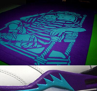 1a869fabbda ... New Fnly94 v Purple Aqua Fresh Prince of Bel Air tshirt grape jordan 5  supreme 2