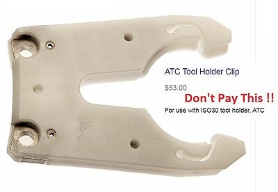 NEW - KOMO BT30 Tool Holder Cradle, Fork, Claw, Clip ! Cheapest USA Supplier !!